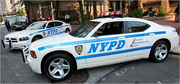new york police cars