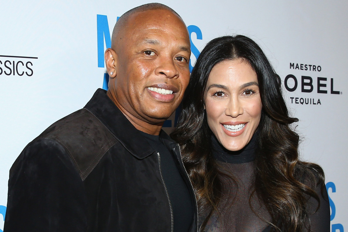 Dr. Dre and Nicole Young