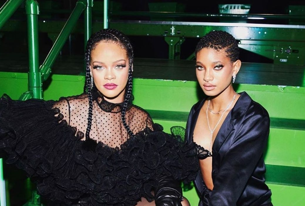 Savage X Fenty Rihanna and Willow Smith