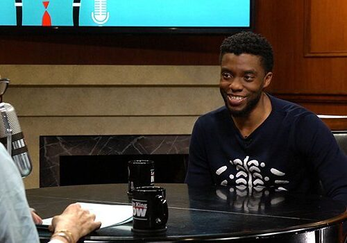 Larry King and Chadwick Boseman Interview screenshot